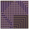 rug #1295847 | square purple check rug
