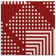 rug #1295863 | square red check rug
