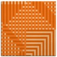 rug #1295875 | square red-orange check rug