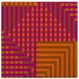 rug #1295879 | square red-orange check rug