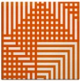 rug #1295883 | square red-orange check rug