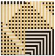 rug #1295899 | square brown check rug