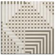 rug #1295911 | square white check rug