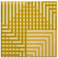 rug #1295915 | square yellow check rug