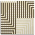 rug #1295919 | square yellow stripes rug