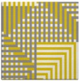 rug #1295923 | square yellow stripes rug