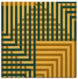 rug #1295927 | square light-orange graphic rug
