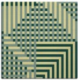 rug #1295931 | square yellow check rug