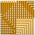 rug #1295951 | square light-orange retro rug