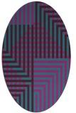 rug #1296043   oval check rug
