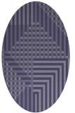rug #1296052 | oval check rug
