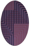 rug #1296062 | oval stripes rug
