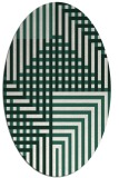 rug #1296100 | oval graphic rug