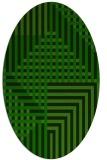 rug #1296174   oval check rug