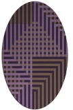 rug #1296215 | oval graphic rug