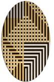 rug #1296268   oval check rug