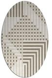 rug #1296279 | oval check rug