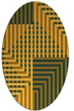 rug #1296298 | oval graphic rug