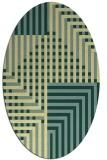 rug #1296301   oval check rug