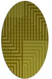 rug #1296306 | oval check rug