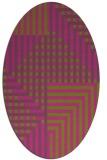 rug #1296312   oval check rug