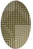 rug #1296317   oval stripes rug