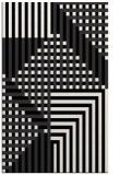 rug #1296335 |  black check rug