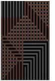 rug #1296339 |  black check rug