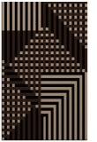rug #1296343 |  black stripes rug