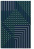 rug #1296371 |  blue check rug