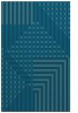 rug #1296399 |  blue-green check rug