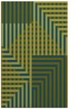 rug #1296407 |  blue-green check rug