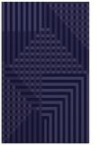 rug #1296415    blue-violet check rug