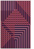 rug #1296423 |  blue-violet check rug