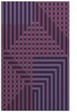 rug #1296427 |  purple check rug