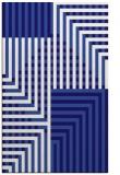 rug #1296431 |  blue-violet check rug