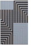 rug #1296439    blue-violet check rug