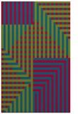 rug #1296451 |  blue-green check rug