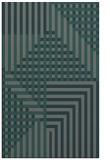 rug #1296463 |  green stripes rug