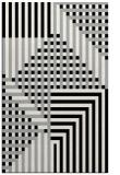 rug #1296479 |  black check rug