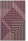 rug #1296499 |  pink check rug