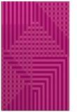 rug #1296559 |  pink check rug
