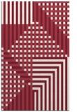 rug #1296563 |  pink stripes rug