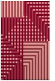 rug #1296567 |  pink check rug