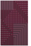 rug #1296575 |  purple check rug