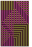 rug #1296579 |  purple check rug