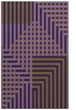 rug #1296583 |  purple check rug