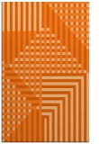 rug #1296611 |  red-orange check rug