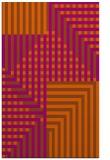 rug #1296615 |  red-orange check rug