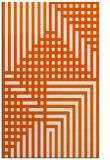 rug #1296619 |  red-orange check rug